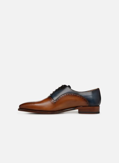 Zapatos con cordones Marvin&Co Luxe Welner - Cousu Goodyear Multicolor vista de frente